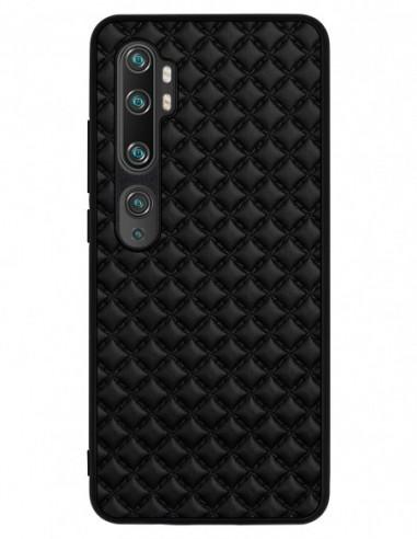 Etui premium skórzane, case na smartfon XIAOMI REDMI 9C PRO. Pik czarny mat