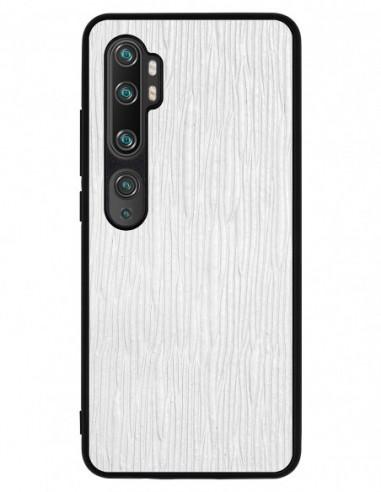Etui premium skórzane, case na smartfon XIAOMI REDMI 9C PRO. Lizard biały