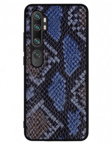 Etui premium skórzane, case na smartfon XIAOMI REDMI 9C PRO. Pyton białowargi